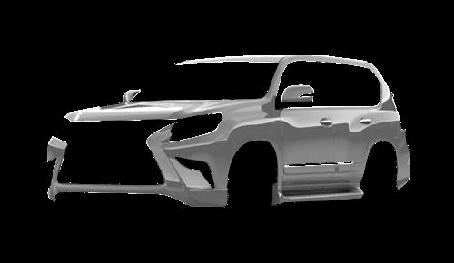 Цвета кузова GX 460